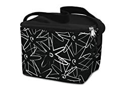 Lunch Cooler Bag- Star Flower-White