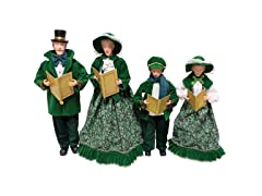 "18-15"" Irish Carolers Set 4"