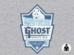 Ghost White Ale Pullover Hoodie
