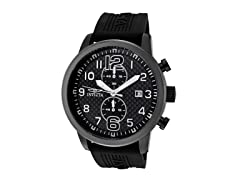 Invicta Men's Chronograph, Black/Gunmet.