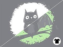 Glow T-shirt: Whoooooo am I?...