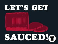 Let's Get Sauced! Long-Sleeve Tee