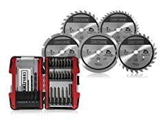 Craftsman Saw Blade & Drill Bit Bundle