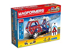 Magformers XL Cruisers 33-Piece Set
