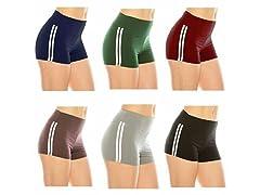 Nextex Women's Athletic Yoga Shorts 5Pk