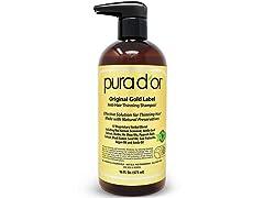 PURA D'OR Anti-Thinning Shampoo,16 oz