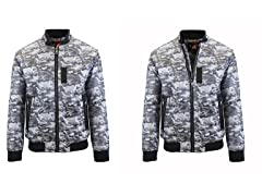 Men's Aviator Flight Bomber Jackets