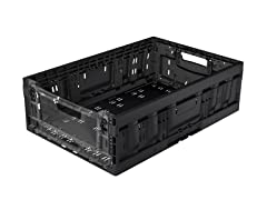 Collapsible Large Crate with Clear Panel