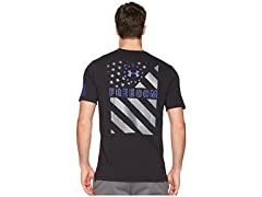 UA Men's Freedom Express Flag T-Shirt
