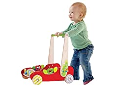 Hape Eco Push and Walk Activity Wagon