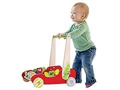 Hape Eco Push and Walk Activity Wagon
