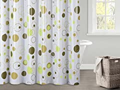 Oscar PEVA Shower Curtain