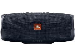 JBL Charge 4 Waterproof Bluetooth Speaker - Black