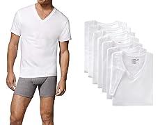Hanes Men's  V-Neck Undershirts 7-Pack