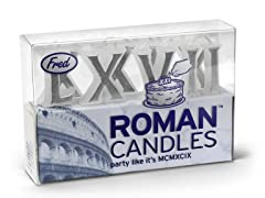 Fred Cake Candles - Roman Candles
