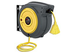 ReelWorks 50' 14AWG Extension Cord Reel