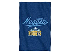Denver Nuggets Sweatshirt Throw