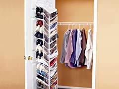 Shoes Away! Hanging Shoe Organizer