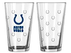 Colts Pint Glass 2-Pack