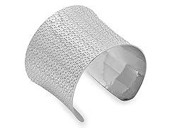 Stainless Steel Adjustable Rain Drop Cuff