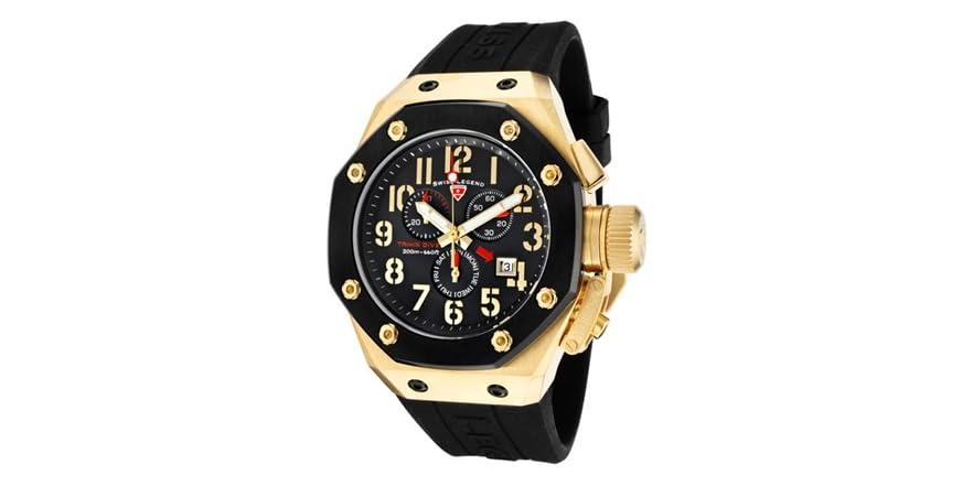 Watches Swiss Legend Tri Mix : Swiss legend men s trimix diver chronograph fashion