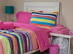 Sierra 26pc Reversible Dorm Set-Full