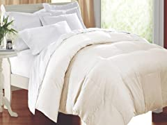 Down Alternative Comforter Ivory-3 Sizes