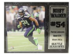 12x15 Stat Plaque - B. Wagner Seahawks