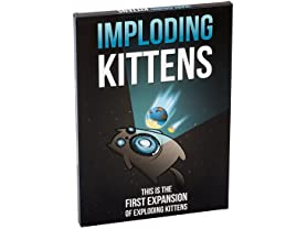 Imploding Kittens: First Expansion of Exploding Kittens
