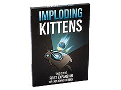 Imploding Kittens: First Expansion of Exploding Kittens