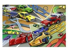 Cartoon Racing Cars