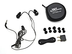 Sound Isolating In-Ear Headphones w/ Mic
