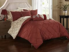 Chic Home Carlton 10-Piece Comforter Set