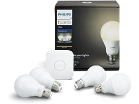 Philips Hue LED Smart Light Bulb Kit