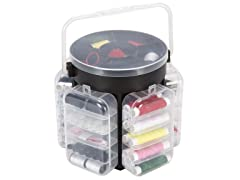 210 Piece Sewing Kit Deluxe Caddy