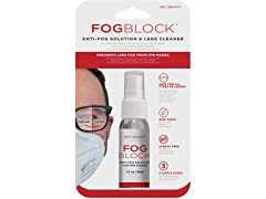 FogBlock Anti-Fog Solution for PPE Masks