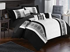 Chic Home Clayton 10-Piece Comforter Set