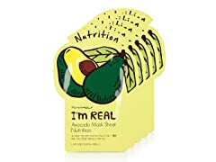 I'm Real Avocado Mask Sheet - 5 Pack