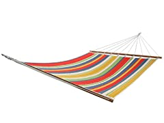 Double Quilted Hammock, Meijer Stripe