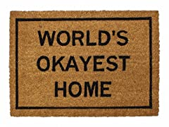 World's Okayest Home Mat