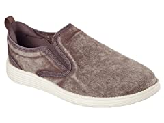 Men's Relaxed Fit Shoe - Chocolate