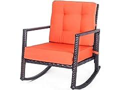Patio Rattan Rocking Chair