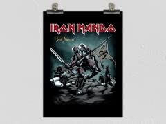 """Iron Mando: The Hunter"" Matte Poster"