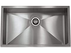 "Lenova 28"" x 19"" Under-Mount Kitchen Sink"