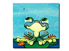 Frog's Lunch 14x14 Canvas