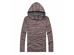 Long Sleeve Light Weight Hooded Henely