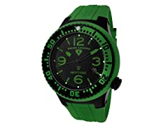 Men's Neptune Watch - Green/Black
