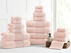 Air Cloud 100% Combed Cotton 18-Piece Towel Set