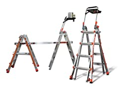 Little Giant 17' Ladder with AirDeck