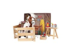 Plush Horse with 1 Sound Effect Play Set